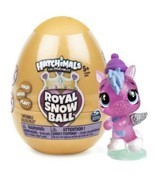 Hatchimals Colleggtibles Royal Snow Ball Gold Egg Blind Mini Mystery Sur... - $2.99