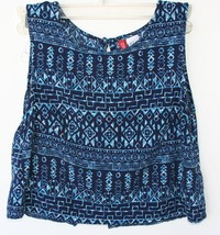 DIVIDED by H&M Navy Crop Top Sleeveless US size 2 Women's Junior EUC - $7.91