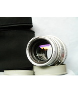 Hasselblad Carl Zeiss Sonnar C 150mm f/4 Chrome Lens c/w Caps - TESTED-N... - $260.00