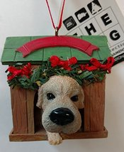 Kurt Adler The Dog in Doghouse Ornament 2.5 inches (F) - $15.00