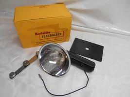 Old Vtg Kodak Kodalite Flashholder Black No.710 Camera Equipment Accessories - $19.79