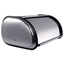 Stainless Steel Bread Box Storage Bin Keeper Food Container Kitchen New - $33.21