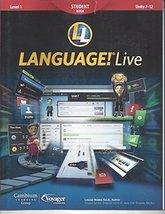LANGUAGE!Live Student Book Level 1 Unit 7-12 [Paperback] Louisa Moats, Ed.D.