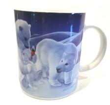 Coca Cola Polar Bear Family 12oz. Coffee Cup Gibson Every Day - $18.99