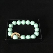 Womens Avon Tangier Market Stretch Bracelet F3930171 Green Fashion Jewelry NEW image 2