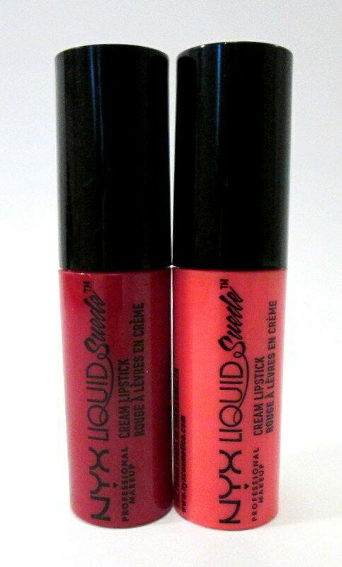 NYX Liquid Suede Cream Lipstick Mini Duo Kitten Heels & Foiled Again UNSEALED  - $6.00