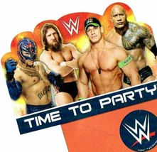 WWE Party Birthday Invitations 24 Pieces - $19.75
