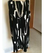 Women's Dress,L,Black,Geometric,,Halston Heritage, ,NWOT - $74.25