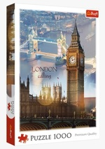 "NEW Trefl Puzzle Jigsaw 1000 Pieces ""London at Dawn"" FREE SHIPPING - $43.89"