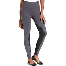 NEW Spanx Star Power Suede Leggings size S Small Backdrop Black Gray NWT... - $26.06