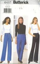 Butterick 6437 Misses Jeans Size 18-20-22 UNCUT - $2.00