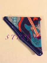 Handmade Fabric Corner Bookmark - $4.00