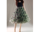 Army green tulle skirt 6 thumb155 crop