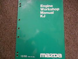 1997 Mazda Kj Engine Workshop Service Repair Shop Manual Factory Oem Book 97 - $34.60