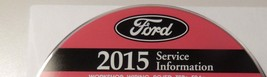 2015 Ford TAURUS POLICE INTERCEPTOR Service Shop Repair Manual ON CD NEW... - $277.15