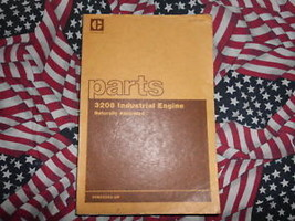 Caterpillar 3208 Industrial Engine Part Book Aspirated - $24.74
