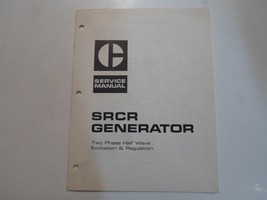 Caterpillar SRCR Generator Two Phase Half Wave Excitation & Reg Service ... - $44.50