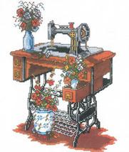 Sewing Machine cross stitch chart Kappie Originals - $4.50