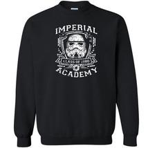 382 Imperial Academy Crew Sweatshirt funny jedi movie star geek nerd vin... - $20.00+