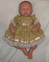Preemie & Newborn Girl's Sunshine Dress and Bloomers - $30.00