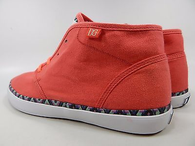 DC Studio LTZ Mid Top Textile Women's Skate Shoes Size US 10 M (B) EU 42 Pink