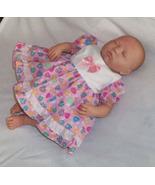 Preemie & Newborn Girls Cotton Lace Dress and Diaper Cover  - $30.00