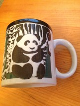 Vtg Otagiri Japan Coffee Tea Cup Mug Panda Zebr... - $17.37