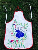 Vtg Retro Style Made in Australia Graphic Koala Apron Unique and Darling - $13.99