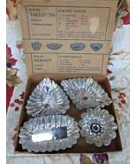 Mormatt Sweden Mini Tartlet Fluted Tin Molds Pastry Baking Pans - 21pcs  - $15.99