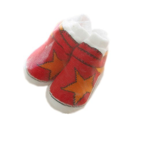 REDStar Toddler Anti Slip Skid Shocks Baby Stockings Newborn Infant Shoes 2 pack