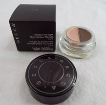 BECCA Shadow and Light Brow Contour Mousse, Medium/Cafe .53 Oz 1.5g - $16.92