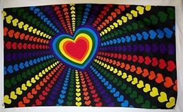 Rainbow Love Gay Pride Flag 3' X 5' Indoor Outdoor Tolerance Banner - $9.95