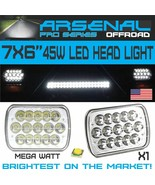 "LED 6"" X 7"" LED Headlight Replacement Lamp DRL for Jeep Cherokee XJ Truc... - $26.68"