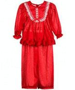 Girls Frilly Red Pajama Set Laura Dare - $25.00