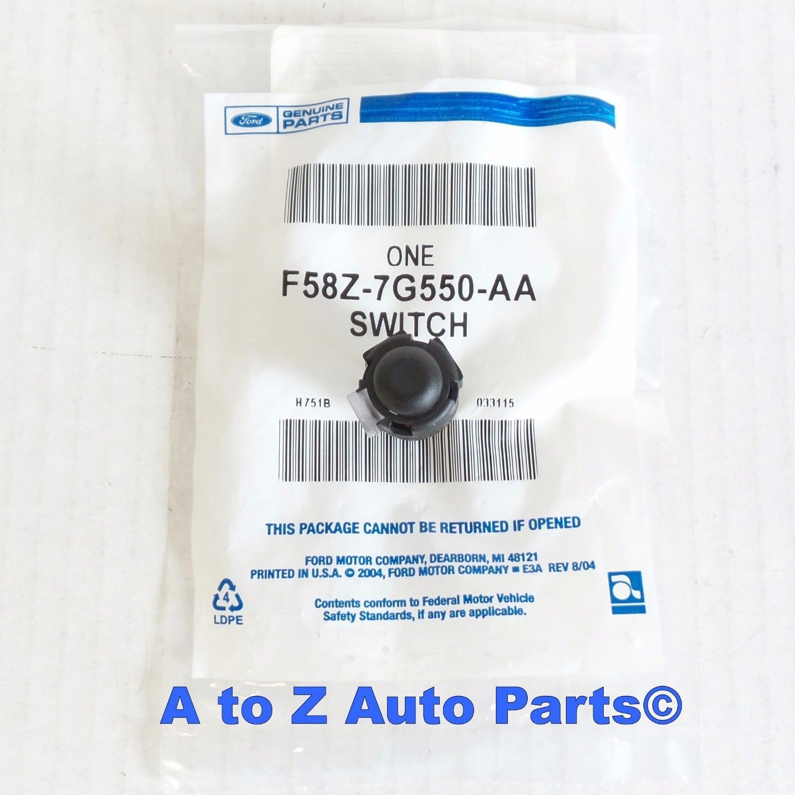 NEW 1992-2003 Ford F150, F250 Transmission Shift Overdrive Lockout Switch,OEM - $22.95