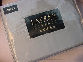 Ralph Lauren Dunham Chalet Green Sheet Set Queen - $96.90