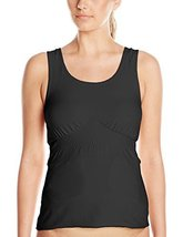 Amoena Women's Michelle Post- Surgery Pocketed Camisole, Black, 3X - $50.79