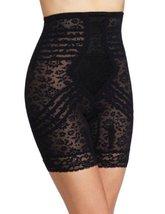 Rago Women's Plus-Size Hi Waist Long Leg Shaper, Black, 6X-Large (42) - $43.93