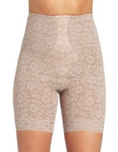 Rago Women's Hi Waist Long Leg Shaper, Mocha, Medium (28) - $43.22