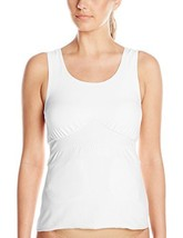 Amoena Women's Michelle Post- Surgery Pocketed Camisole, White, Medium - $49.81
