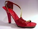 Wild Fire Rich Red Emphasizing Arch Super Star Sandal Hot Just the Right Shoe