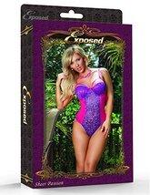 Envy Body Shop Women Magic Silk Sheer Passion Teddy (S) - $58.75
