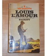Louis L'Amour The Sacketts 1979 - $0.99