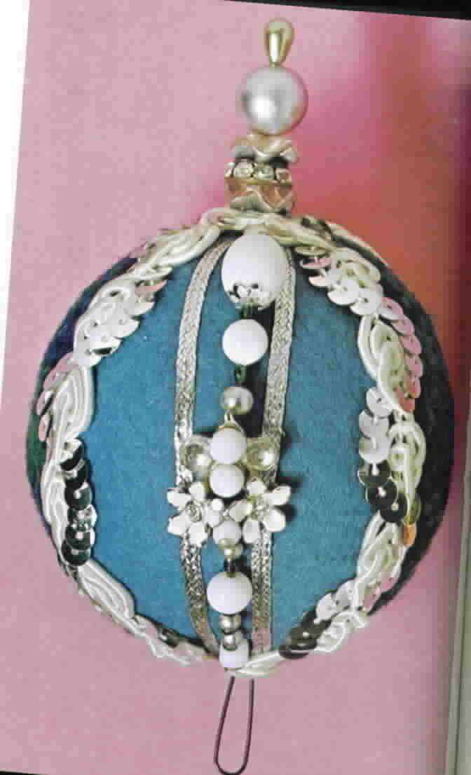 Vintage How To Make Christmas Ornaments by Harryette S. Hendricks