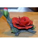 Red Rose Figurine Small Chip - $0.99