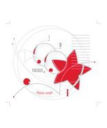 *Astronomy_Red* Digital Illustration JPEG Image Download - $4.23