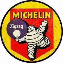 Michelin Tire Motor Oil Gas Station Sign - $25.74