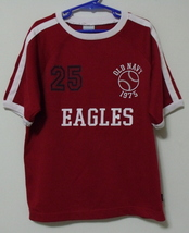 Boys Old Navy Red Short Sleeve Shirt Size 7 - $3.95