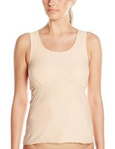 Amoena Women's Michelle Post- Surgery Pocketed Camisole, Nude, 2X - $50.79