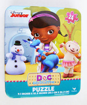 Doc McStuffins, Stuffy, Lambie & Chilly 24 Piece Puzzle in Collectors Ti... - $9.65